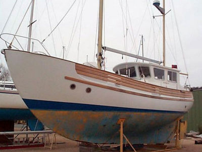 Sale the yacht Fisher 34