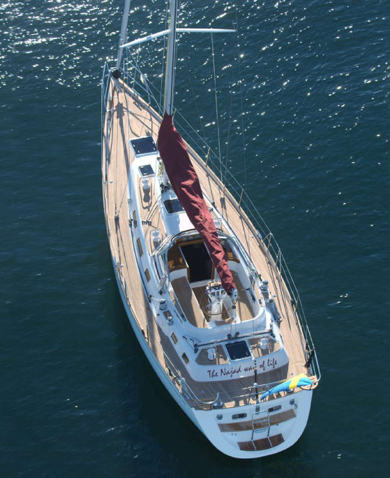 Yacht For Sale Gt Sailing Boat Najad 440 Cc For Sale