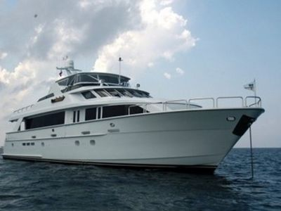 Sale the yacht Hatteras 100'