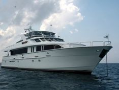 Motor yacht for sale Hatteras 100'