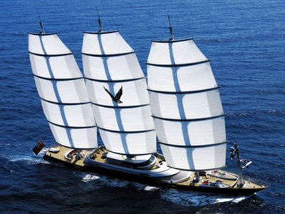 Sale the yacht Perini Navi 88m «Maltese Falcon»
