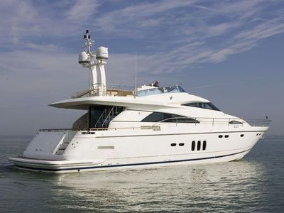 Sale the yacht Fairline Squadron 68