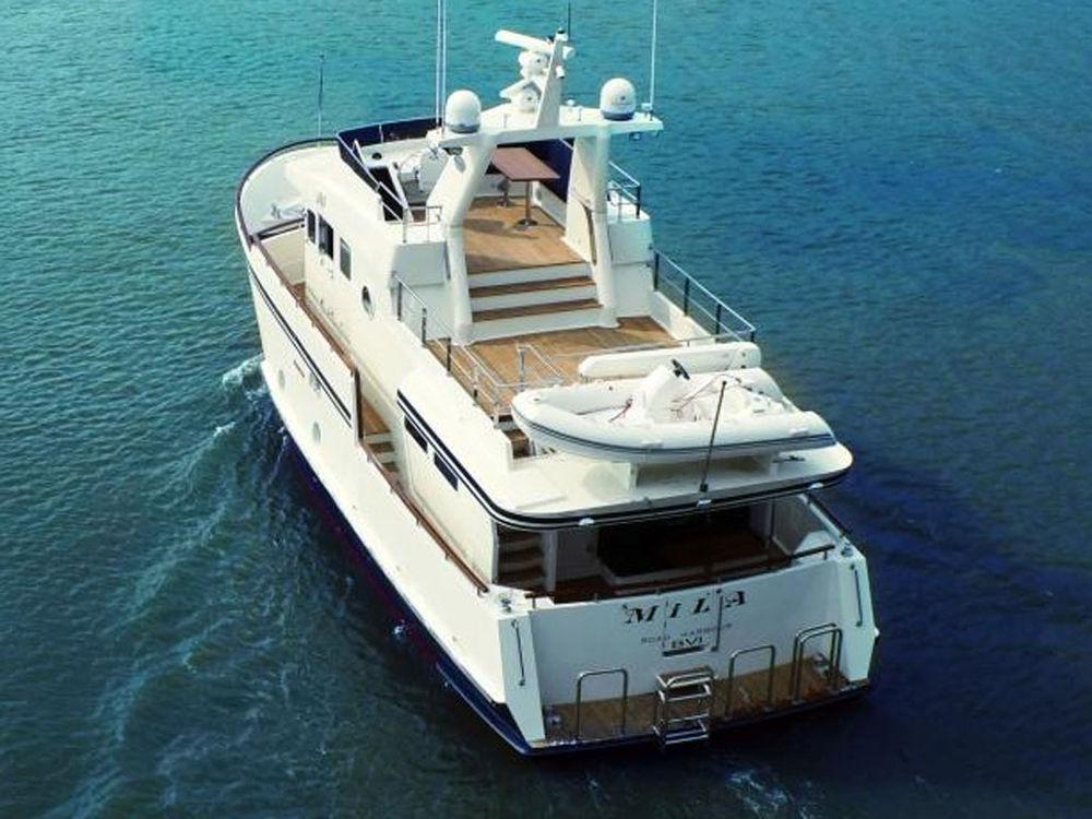 yacht for sale  u0026gt  motor yacht bering trawler 55  u00abmila u00bb for sale