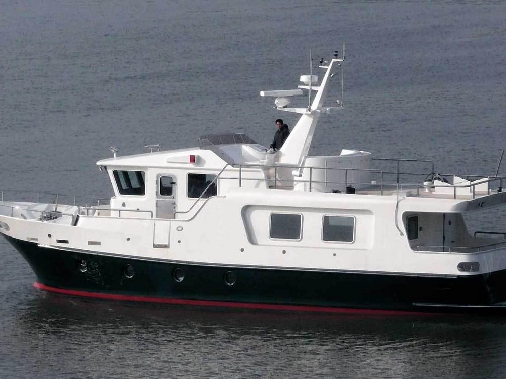 Yacht For Sale Motor Yacht Bering Trawler 55 Anjumal
