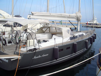 Sale the yacht Hanse 630e «Santa Anna»