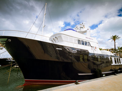 Sale the yacht Northern Marine 84' expedition «Spellbound»