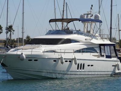 Sale the yacht Fairline 70 Squadron «Foreigner»