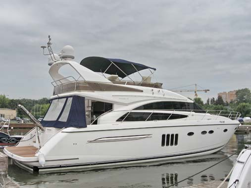 Sale The Yacht Princess 62 Flybridge