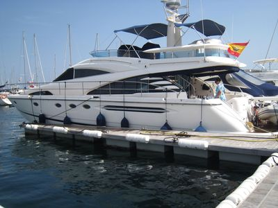 Sale the yacht Fairline Squadron 58 FLY