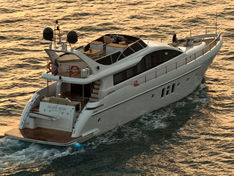 Motor yacht for sale Aqualiner 77