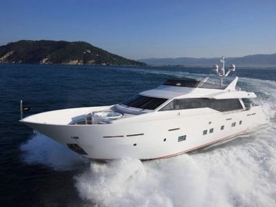 Sale the yacht Tecnomar 30m «Aurora»