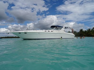 Sale the yacht Sea Ray 400 Express Cruiser «PAO»