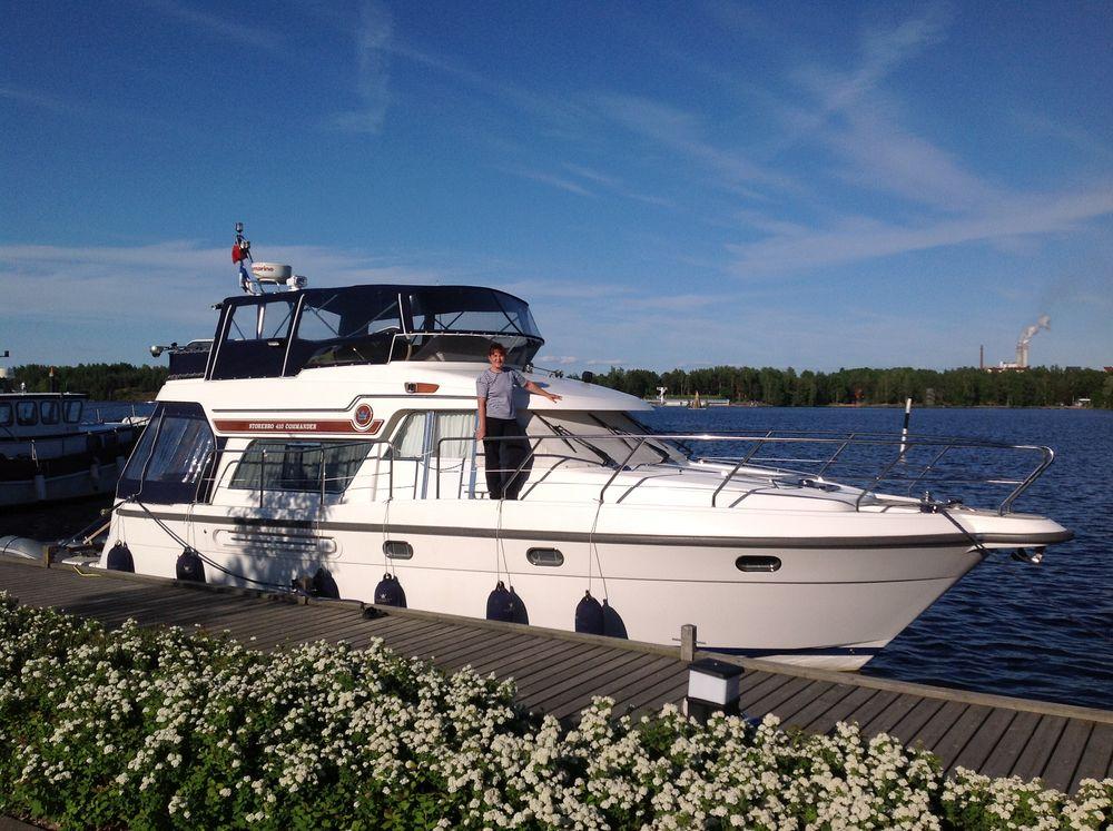 sale the yacht storebro commander 410 (foto 2)