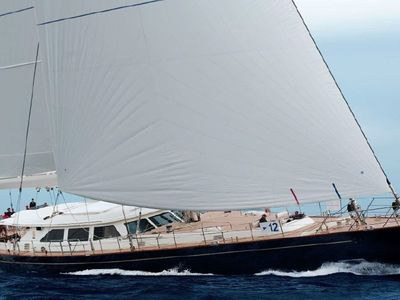Sale the yacht Perini Navi Cutter Sloop 45m