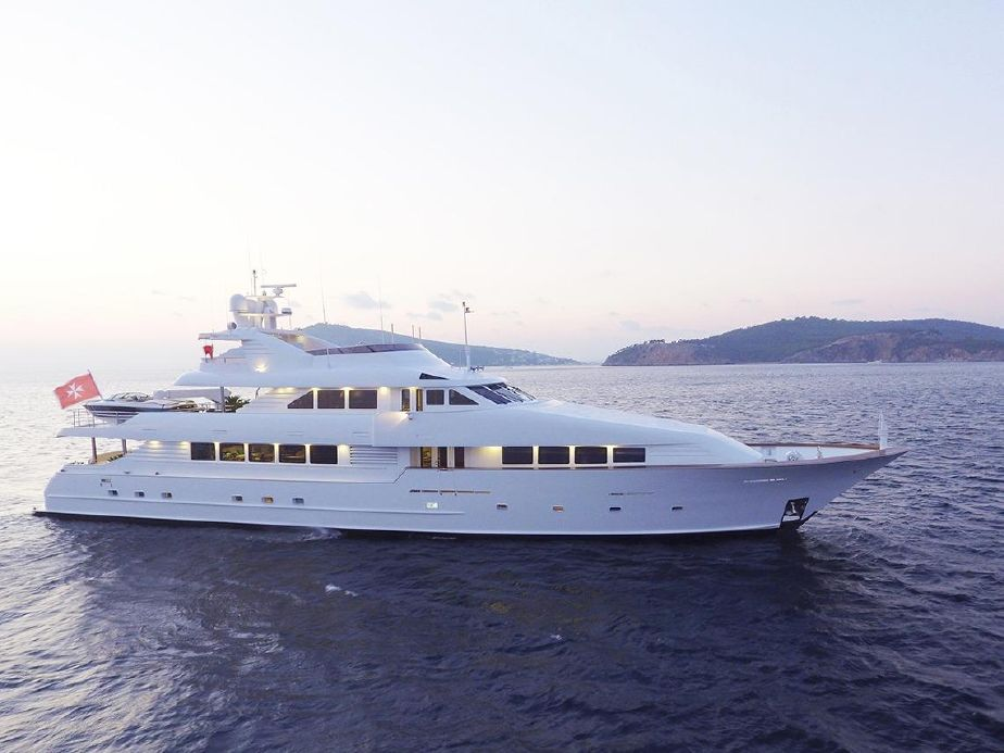 Yacht For Sale Motor Yacht Broward 40m For Sale