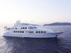 Motor yacht for sale Broward 40m