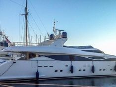 Motor yacht for sale Maiora 38m