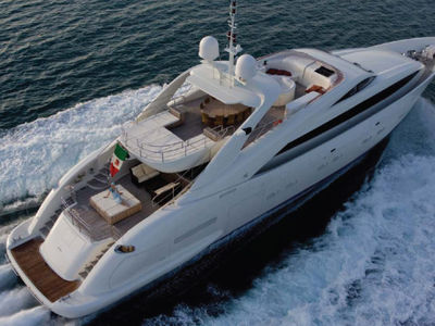 Sale the yacht ISA Sport 120