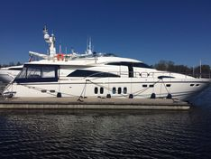 Motor yacht for sale Fairline Squadron 74 «Blue Quest»