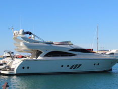 Motor yacht for sale Dominator 620S «Galant»