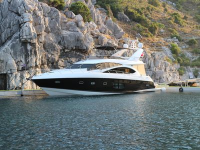 Sale the yacht Sunseeker Manhattan 70